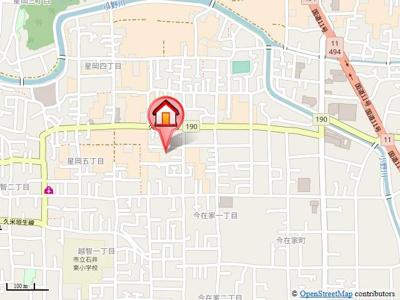 【地図】コーポ・FK・