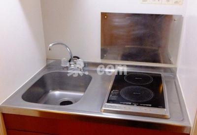 【キッチン】レオパレスオリーブハウスⅡ(25517-204)