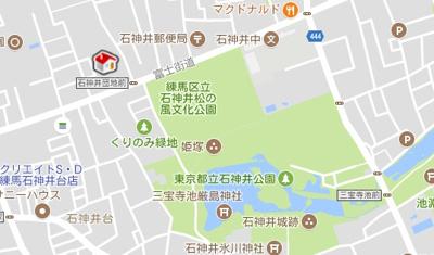 【地図】レオパレスオリーブハウスⅡ(25517-204)