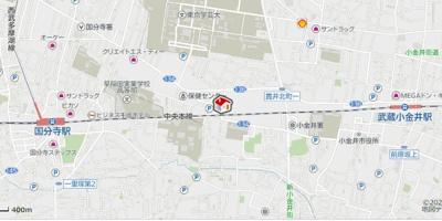 【地図】レオパレスサンシャイン貫井北(44517-108)