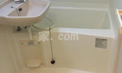 【浴室】レオパレスウッドタウン(40748-305)