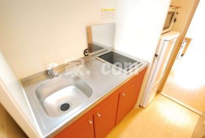 【キッチン】レオパレスウッドタウン(40748-305)