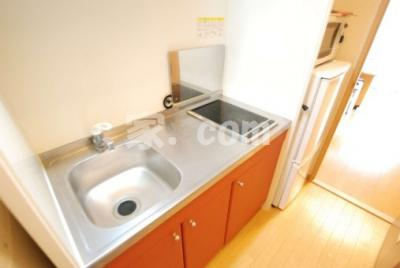 【キッチン】レオパレスウッドタウン(40748-103)