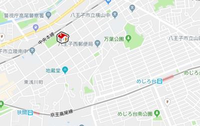 【地図】レオパレスNAKAGOME(36695-101)