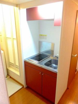 【キッチン】レオパレス青葉
