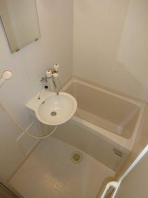 【浴室】レオパレス上井沢