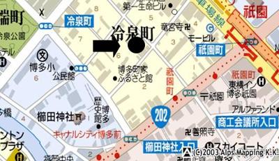 【地図】野田ビル