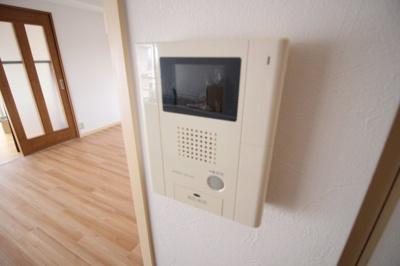 TVモニターホン完備で防犯面も安心♬