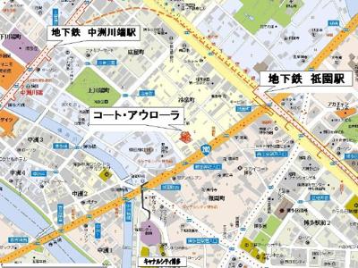 【地図】コート・アウローラ