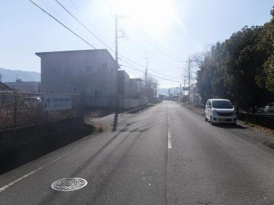 【周辺】南アルプス市戸田196坪売地