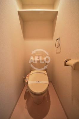 サムティ阿波座Lusso トイレ