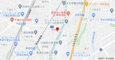 【地図】リブリ・昭和園