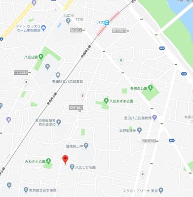 【地図】ノーブル