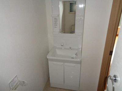 シャワー付洗面台