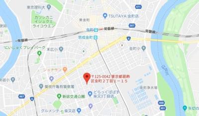 【地図】オリーブ金町