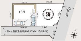 【区画図】さいたま市大和田町11期