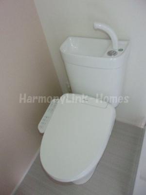 AISIO小岩のゆったりとした空間のトイレです