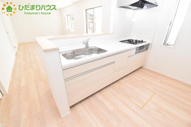 【キッチン】西区プラザ第4 新築一戸建て クレイドルガーデン 02