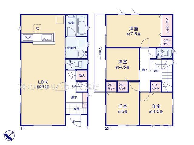 西区プラザ第4 新築一戸建て クレイドルガーデン 02