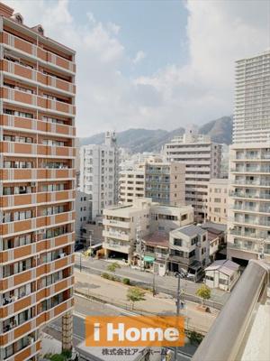 所在階が10階のため眺望良好です!