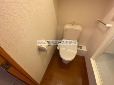 【トイレ】レオパレスプレミールⅠ