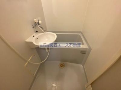 【浴室】レオパレスプレミールⅠ