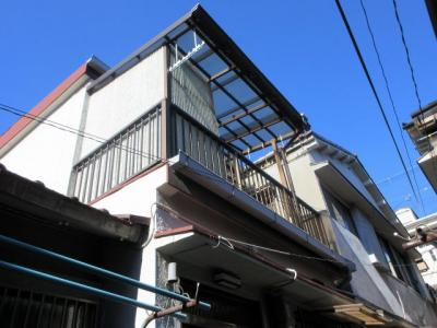 【外観】東住吉区照ヶ丘矢田2丁目テラス