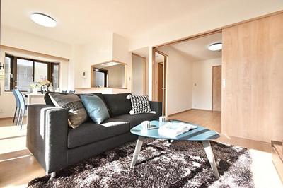 LDKは、家具の配置もしやすい間取りです。