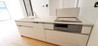 食洗器がついたキッチンです