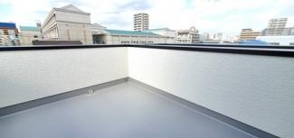 広々した屋上ルーフバルコニーです
