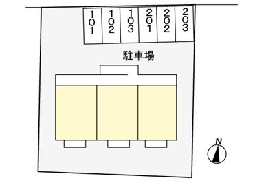 【駐車場】コーポ光桜ヶ丘