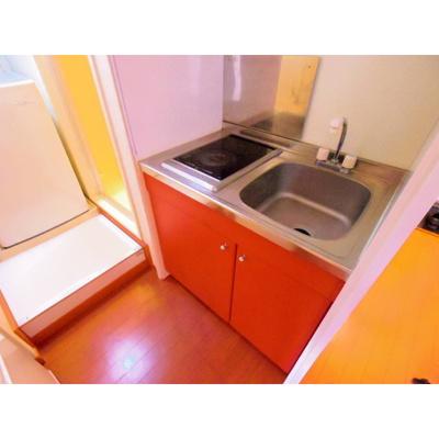 【キッチン】レオパレス信州in5