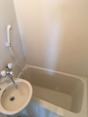 洗面台つきユニットバス