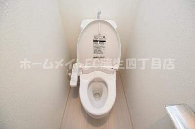 【トイレ】レオンコンフォート京橋EAST