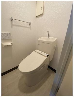 トイレ交換済み♪