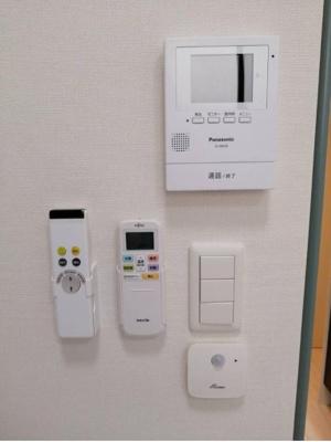 TV付インターホン☆