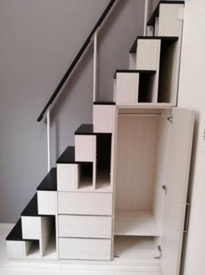 収納付き階段☆