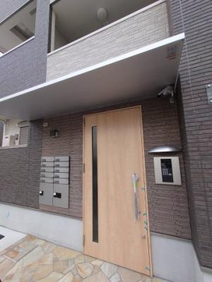【エントランス】フジパレス都島御幸町Ⅱ番館