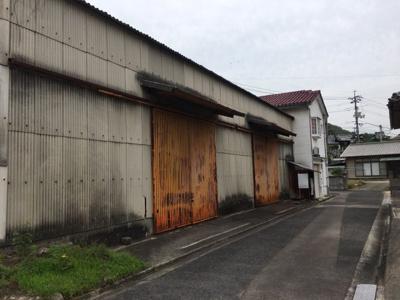 【外観】久山田町 売倉庫