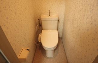 【トイレ】レモンパレス(猫共生アパート)