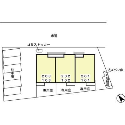 【区画図】グランコートJA