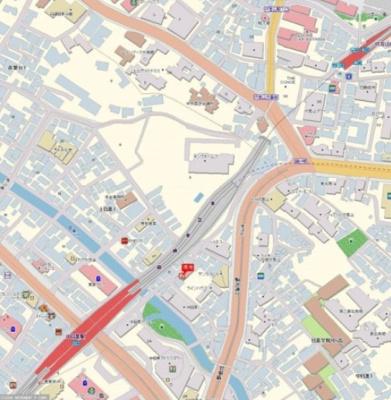 ジェイパーク中目黒弐番館 地図