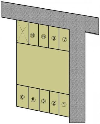 【区画図】両三柳駐車場