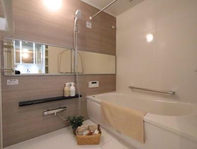 日々の疲れを癒すお風呂付です 三郷新築ナビで検索