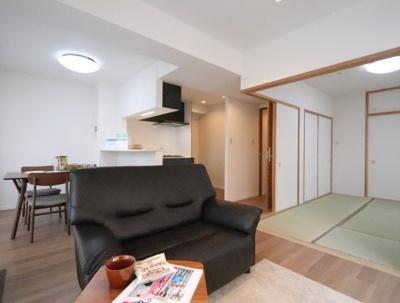 使いやすい居間です 吉川新築ナビで検索