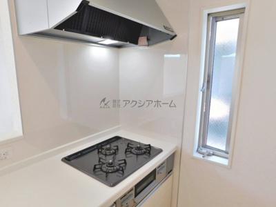 【キッチン】瑞穂町長岡1丁目・全6棟 新築一戸建 1号棟
