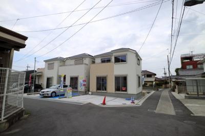 【外観:施工例】堺市東区高松 新築戸建