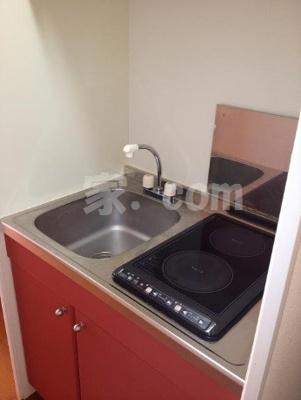 【キッチン】レオパレスMKアパートメント(31414-210)