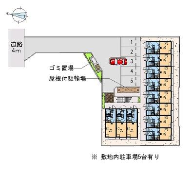 【駐車場】レオパレスMKアパートメント(31414-210)