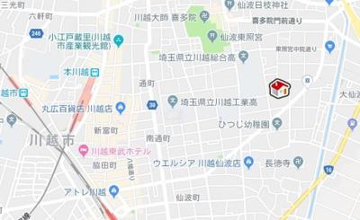 【地図】レオパレスMKアパートメント(31414-210)